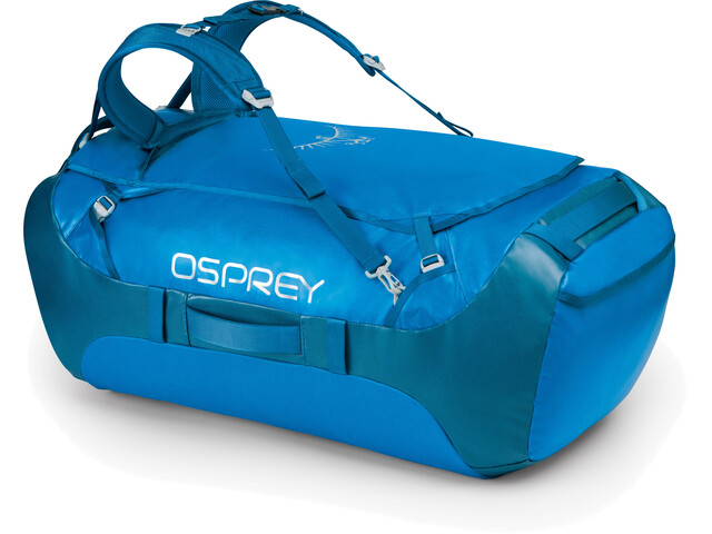 Osprey Transporter 130 Duffelilaukku, kingfisher blue